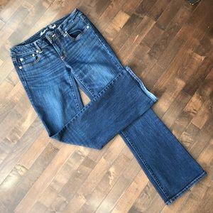 AEO • Blue Favorite Boyfriend Jeans • Sz 8
